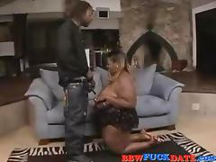 Huge fat black BBW get fucked by BBC