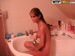 Bath, Amateur, Bath, Homemade, Riding, Russian