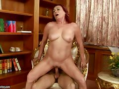Mature Redhead Lover Lupita Having the Most Amazing Sex