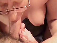 Amazing Deepthroat Blowjob By Mature Amateur Wife