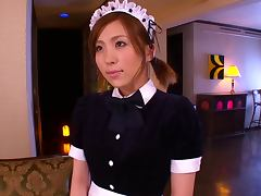 Kinky Maid Rin Sakuragi Wants to Get Her Pussy Fucked