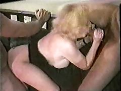 Kitty Foxx fucked by 3 Black Cocks