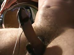 E stim Estim My cock in shock 5