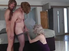 trio crossdressers