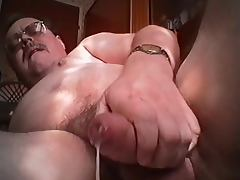 Tueffis wank and dildofucksession