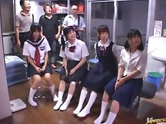 Horny Schoolgirl Spreads Her Legs For A Deep Dicking