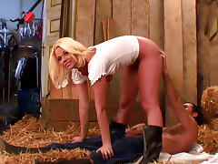 Country, Big Cock, Big Tits, Blonde, Boobs, Country