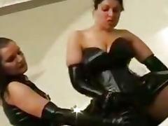 Big Ass In Latex Facesitting Femdom bdsm bondage slave femdom domination
