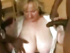 Mature woman with huge fucking tits