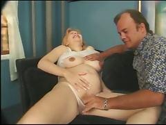 Hot Preggo Krista Gets Her Pregnant Pussy Fucked