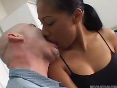 Hardcore Fucking and Cum in Mouth for Thai Slut Nyla Thai