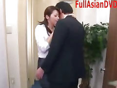 Japanese Pornstar Great Blowjob Facial