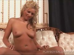 Shanis McGhee blonde chick in hot action