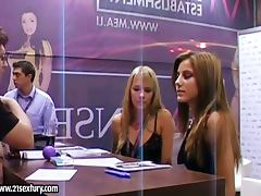 Porn Stars signing authographs and teasing the fans