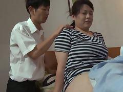 Son, Asian, Chubby, Couple, Fat, Fingering