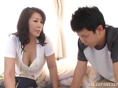 Luscious Japanese babe gets pounded hard and deep