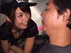 Sexy Nanami Kawakami in Hot Police Costume Gives an Amazing Blowjob