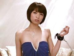 Hot MILF Shoko Akiyama Handcuffed and Fucked for Facial