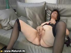 Aged, Aged, Amateur, Brunette, Housewife, Masturbation