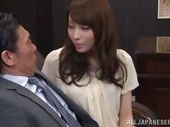 Sweet Asian MILF Arisu Miyuki Getting a Hard Drilling for Her Cunt