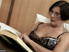 Old and Young, Blowjob, Bra, Cum, Cumshot, Hairy