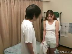 Japanese Teen, Blowjob, Couple, Cowgirl, Fingering, Hardcore