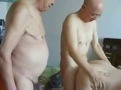 Japanese Grandpas and grandma porn video