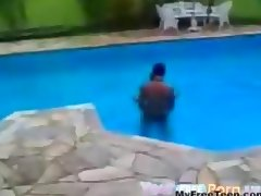 Mexican Teens Fuck In The Swimming Pool teen amateur teen cumshots swallow dp anal