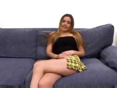 Blonde Schoolgirl Fucks Like A Freak