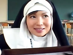Nun, Asian, Bukkake, Hairy, Japanese, Nun