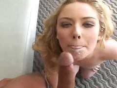 Blonde Tobi POV Squirt And Anal