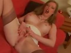 Retro Milf in Girdle Nylons loves the attention porn video