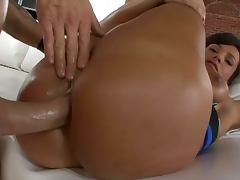 Lisa ann talks dirty for the anal show
