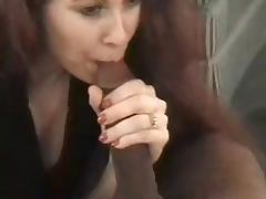 Nervous Redhead Knows How To Suck and Fuck a BBC SAO