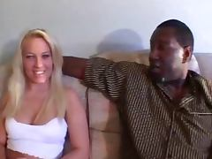 Hally interracial fuck