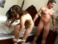 Cuck Slut fucked by 2 bikers Boyfriend on the phone