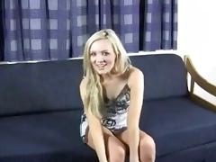 Blonde brit gives a countdown JOI