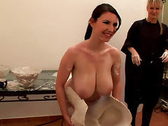 Karina Heart is getting a dose of silicon over her tits