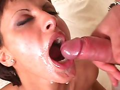 All, Babe, Black, Blowjob, Brunette, Cum