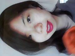 Bimbo, Asian, Bimbo, Cum, Lipstick, Oriental