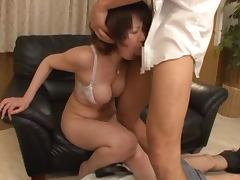 Hot mature whore gets some pussy stimulation