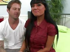 Big Tits Latina Sucked A Big Cock
