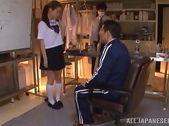 Yuri Hasegawa the hot teen gets toyed and fingered