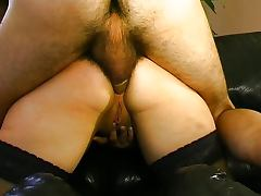 Hot French redhead gets fucked and fisted