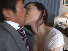 Arisa Ikoma the hot Asian babe with big boobs gets fucked