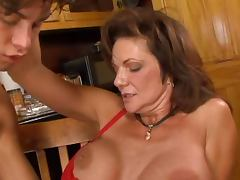 Mature seduces a young salesman porn video