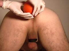 Dr Peeemeee and Gianni enema plug and spanking