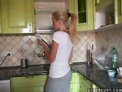 All, Fingering, Game, Kitchen, Lesbian, Reality