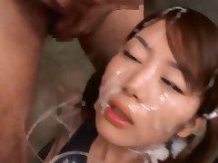Mayura Hoshitsuki Cum Swallow