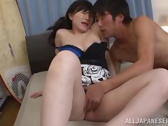Nasty Japanese girl Aris Ikoma is a cheap slut